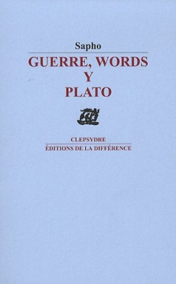 "Afficher ""Guerre, words y Plato"""