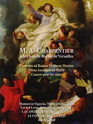 """Afficher """"M.A. Charpentier à la Chapelle Royale de Versailles"""""""
