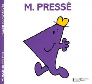 "Afficher ""Monsieur n° 23<br /> Monsieur Pressé"""