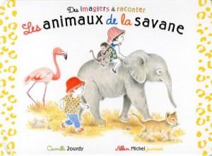 """Afficher """"Des imagiers à raconter Les animaux de la savane"""""""