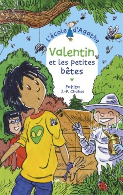 """Afficher """"L'école d'Agathe n° 70 Valentin et les petites bêtes"""""""