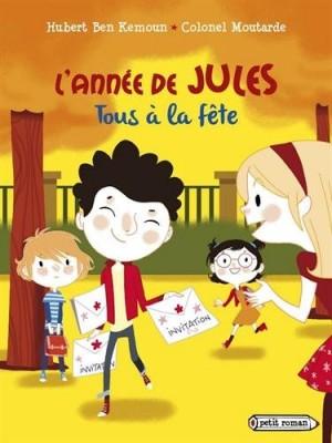 """Afficher """"L'année de Jules n° 2 Tous à la fête"""""""
