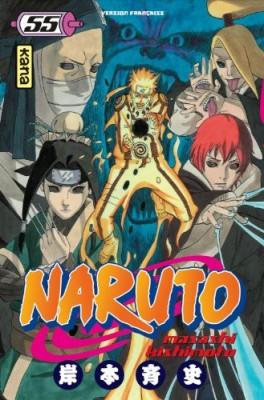 """Afficher """"Naruto n° 55 début de la grande guerre (Le)"""""""