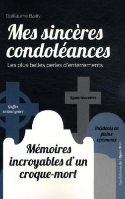 """Afficher """"Mes sincères condoléances"""""""