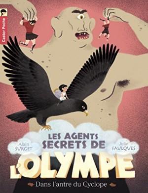 """Afficher """"Les agents secrets de l'Olympe n° 3 Dans l'antre du Cyclope"""""""