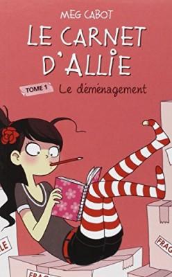 """Afficher """"Le carnet d'Allie n° 1 Le carnet d'Allie - Le déménagement"""""""