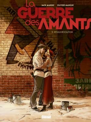 vignette de 'La guerre des amants n° 1<br /> Rouge révolution (Jack Manini)'