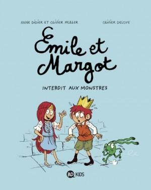 """Afficher """"Emile et Margot n° 1 Interdit aux monstres"""""""