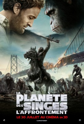 """Afficher """"Planète des singes (La) La planète des singes : l'affrontement"""""""