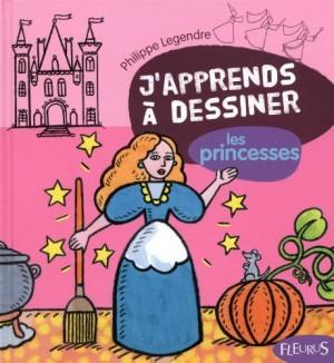 "Afficher ""J'apprends à dessiner les princesses"""