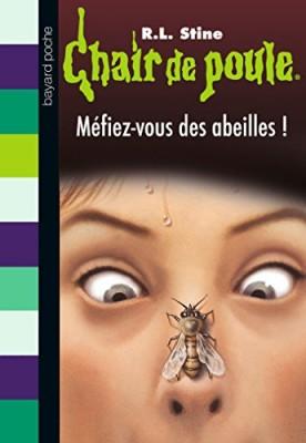 """Afficher """"Chair de poule n° 5 Méfiez-vous des abeilles !"""""""
