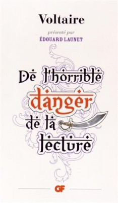 "Afficher ""De l'horrible danger de la lecture"""