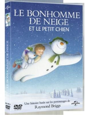 """Afficher """"Le Bonhomme de neige et le petit chien"""""""