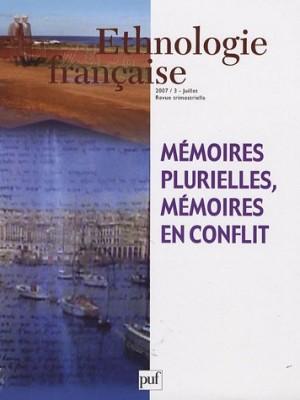 """Afficher """"Ethnologie française n° 3 (2007) Ethnologie française."""""""