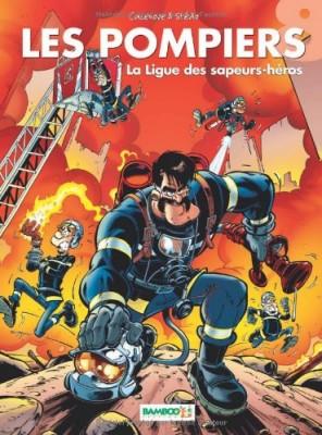 """Afficher """"Pompiers (Les) n° 8 ligue des sapeurs-héros (La)"""""""