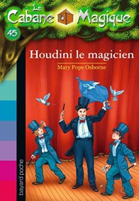 """Afficher """"La cabane magique n° 45 Houdini le magicien"""""""