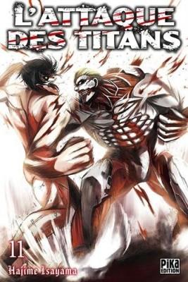 """Afficher """"L'attaque des titans n° 11"""""""