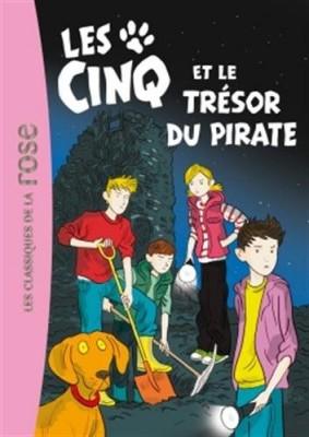 """Afficher """"Club des cinq (Le) n° 41 Cinq et le trésor du pirate (Les)"""""""