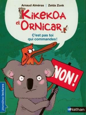 """Afficher """"Kikekoa et OrnicarC'est pas toi qui commandes !"""""""