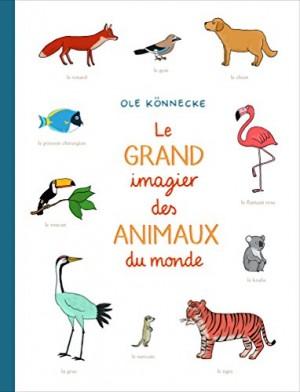 vignette de 'Le grand imagier des animaux du monde (Ole Könnecke)'