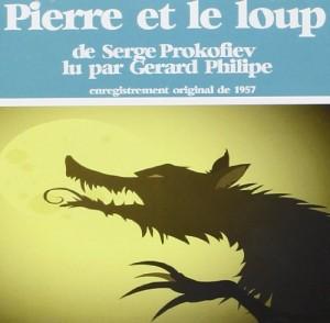 Couverture de Pierre et le loup : Livre CD