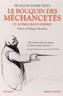 vignette de 'Le bouquin des méchancetés (François Xavier Testu)'