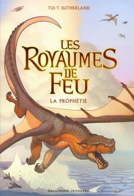 vignette de 'Les royaumes de feu n° 1<br /> La prophétie (Tui T. Sutherland)'