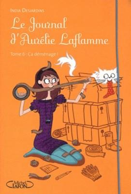 """Afficher """"Le journal d'Aurélie Laflamme n° 6Ça déménage !"""""""