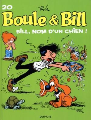 """Afficher """"Boule et Bill n° 20 Bill, nom d'un chien !"""""""