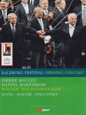 "Afficher ""Festival de Salzbourg 2008 : opening concert : concert d'ouverture oeuvres de Bartok, Ravel & Stravinsky"""