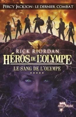 """Afficher """"Héros de l'Olympe n° 5 Sang de l'Olympe (Le)"""""""