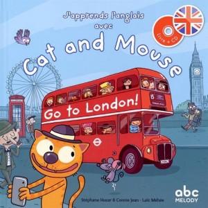"""Afficher """"J'apprends l'anglais avec Cat et Mouse"""""""