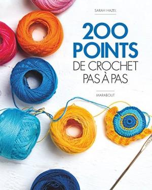 """Afficher """"200 points de crochet pas à pas"""""""