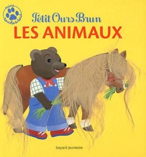 """Afficher """"Mini touche à tout Petit Ours brun Les animaux"""""""