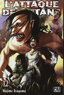 """Afficher """"L'attaque des titans n° 12"""""""