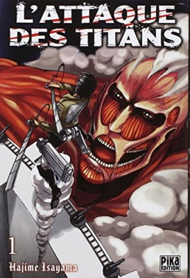 vignette de 'L'attaque des titans n° 1 (Hajime Isayama)'