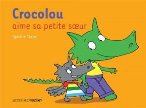 "Afficher ""Crocolou aime sa petite soeur"""