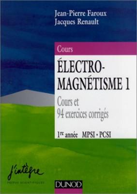 """Afficher """"Nouveau cours de physique. Électromagnétisme 1"""""""