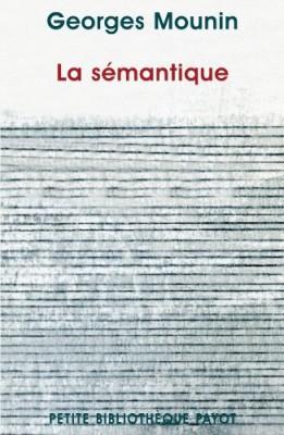 """Afficher """"La sémantique"""""""