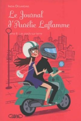 """Afficher """"Le Journal d'Aurélie Laflamme n° 8 Les pieds sur Terre"""""""