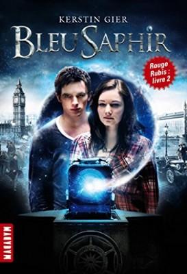 """Afficher """"La trilogie des gemmes n° 02 Bleu saphir"""""""