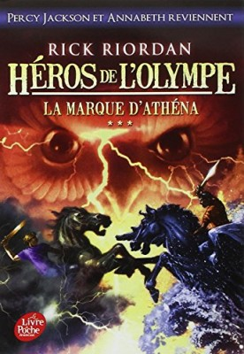 """Afficher """"Héros de l'Olympe n° 3 La marque d'Athéna"""""""