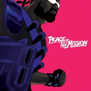 """Afficher """"Peace is the mission"""""""