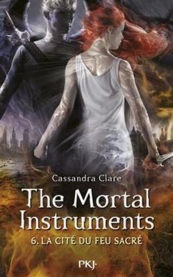 """Afficher """"The mortal instruments n° 6 La cité du feu sacré"""""""