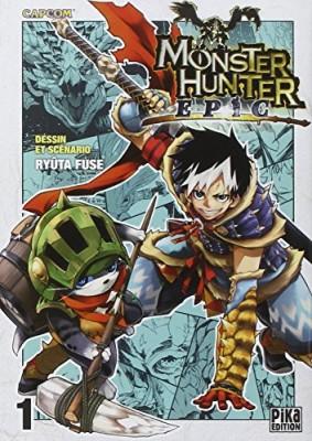 "Afficher ""Monster hunter epic."""