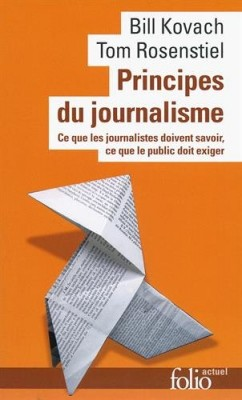 "Afficher ""Principes du journalisme"""
