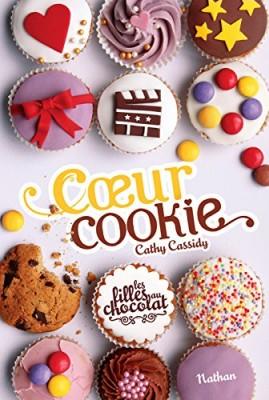 vignette de 'Les filles au chocolat n° 6<br /> Coeur cookie (Cathy Cassidy)'
