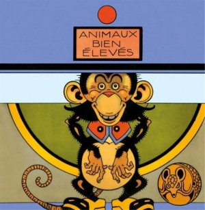 vignette de 'Animaux bien élevés (Antonio Rubino)'