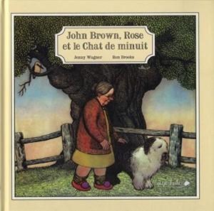 vignette de 'John Brown, Rose et le chat de minuit (Jenny Wagner)'