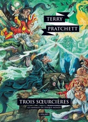 """Afficher """"Les annales du Disque-monde n° 6 Trois soeurcières"""""""